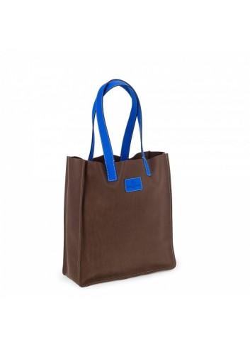 Geometric Backpack (Black/Beige)