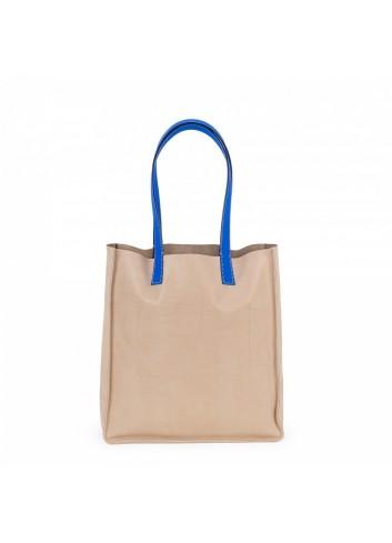 Geometric Backpack (Camel/Beige)